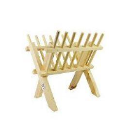 Jesličky dřevěné stojánek 26x23x17cm