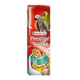 VL Tyčinky pro papoušky velké Prestige Exot.Fruit2x70g Krmivo a pamlsky pro ptáky