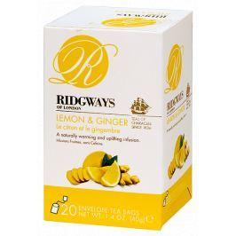 Ridgways Lemon and Ginger - Čaj Citrón se zázvorem 20 sáčků Ridgways