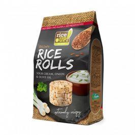 Rýžové minichlebíčky smetanovo-cibulové s olivovým olejem 50g Rice Up