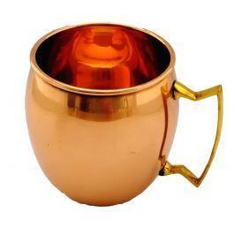 Měděný hrnek na nápoje kulatý Moscow Mule Cup Economy