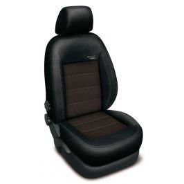 Autopotahy Volkswagen GOLF V PLUS, AUTHENTIC VELVET, černohnědé SIXTOL