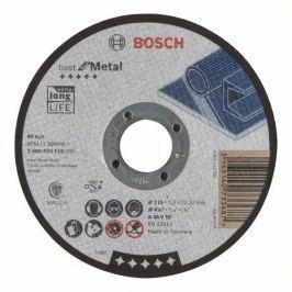Dělicí kotouč rovný Best for Metal - A 46 V BF, 115 mm, 1,5 mm - 3165140733687 BOSCH