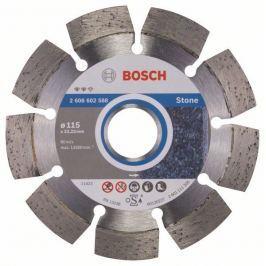 Diamantový dělicí kotouč Expert for Stone - 115 x 22,23 x 2,2 x 12 mm - 3165140580946 BOSCH