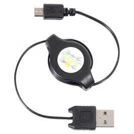 Nabíječka telefonu USB - MICRO USB navíjecí, COMPASS