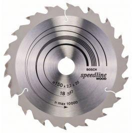 Pilový kotouč Speedline Wood - 150 x 20 x 2,2 mm, 18 - 3165140239929 BOSCH