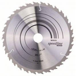 Pilový kotouč Speedline Wood - 235 x 30/25 x 2,6 mm, 30 - 3165140240185 BOSCH