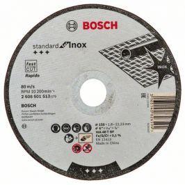 Řezný kotouč Standard for INOX; 150x1,6mm, rovný - 3165140826594 BOSCH