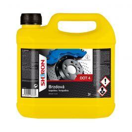 SHERON Brzdová kapalina DOT 4, 3 litry