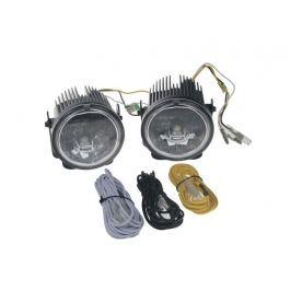 Světla pro denní svícení LED DRL001/3W, homologace TIPA