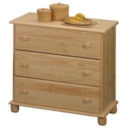 Prádelník 3 zásuvky 8013 Komody