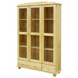 Vitrína třídveřová 8053 Skříně a skříňky