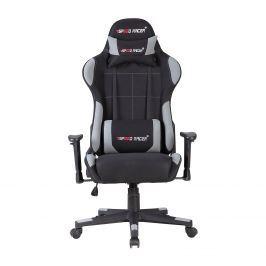 Racing chair SPEED RACER šedý