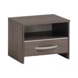 Noční stolek EVA stříbrný ořech Noční stolky