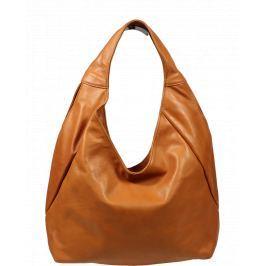 Kožená kabelka Tita Camel Kabelky