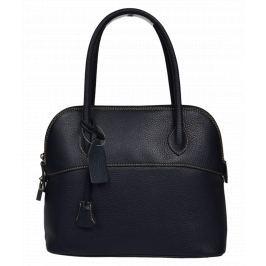 Modrá kožená kabelka Intorna Blu