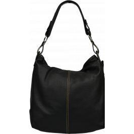 Černá kožená kabelka Chola Nera Kabelky