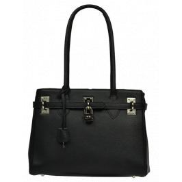 Černá kožená kabelka Azra Nera Kabelky