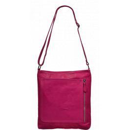 Růžové kabelky crossbody Flora Rosa Kabelky malé