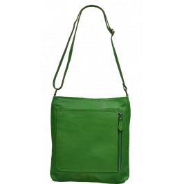 Malá kožená kabelka crossbody Flora Verde Kabelky malé
