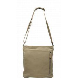 Elegantní kožená kabelka Flora Beige