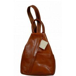 Kožený batůžek Mea Camel