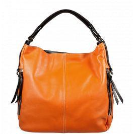 Oranžové kabelky přes rameno Gemma Arancione Cafe
