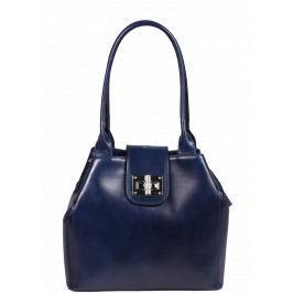 Kožená kabelka přes rameno Angela Blu