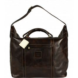 Kožená taška Imelda Cafe