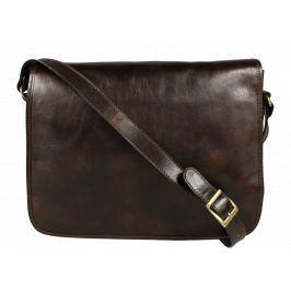 Kožená taška přes rameno Lorenzo Cafe