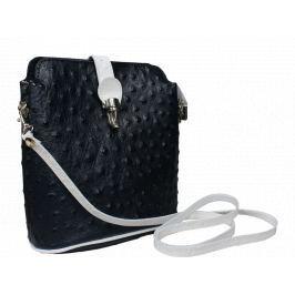 Malá kabelka přes rameno Fibbia Blu Bianca