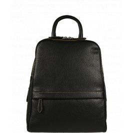 Kožený černý batůžek Amos Nuovo Nera