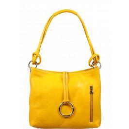 Kvalitní kabelka Veroncia Gialla Chiaro
