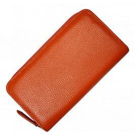 Kožená peněženka WB005 Arancione