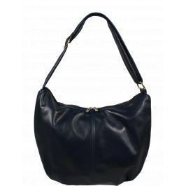 Kvalitní kožená kabelka z Itálie Gondola Blu Scura