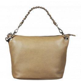 Italská kožená kabelka Madelena Taupe
