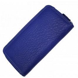 Modré kožené peněženky HS001 Blue