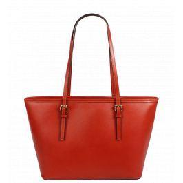 Italská kožená kabelka Lelia Piccola Arancione
