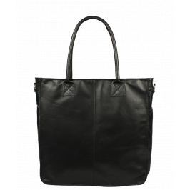 Italská kožená kabelka Fausta Nera