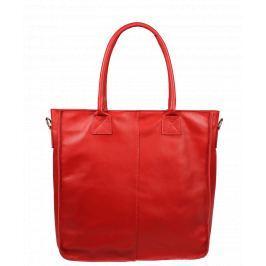 Italská kožená kabelka Fausta Rossa