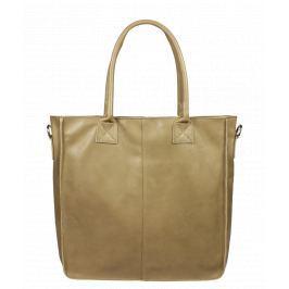Italská kožená kabelka Fausta Taupe