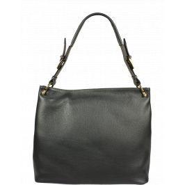 Italská kožená kabelka Selene Grigia Scura