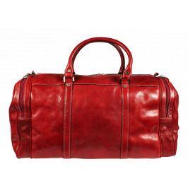 Kožená cestovní taška Saba Rossa