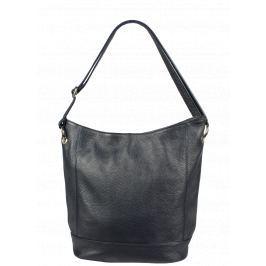 Kvalitní kožená kabelka z Itálie Giulietta Blu Scura