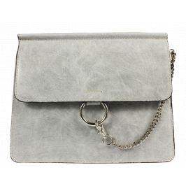 Italská kožená kabelka Pierre Cardin 1538 Sfera Grigio