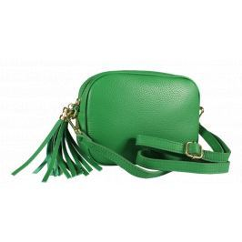 Italská kožená kabelka Bala Verde Scura