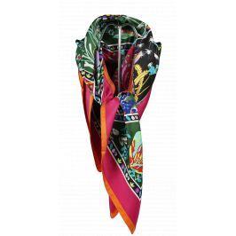 Italský šátek na krk Pierre Cardin S141 Fuxia