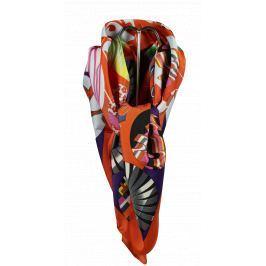 Italský šátek na krk Pierre Cardin S141 Orange