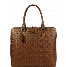 Velká kožená kabelka do ruky Joanna Marrone Piazza