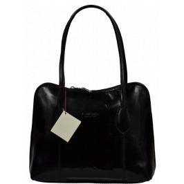 Dámské kožené kabelky do ruky Palagio Nera